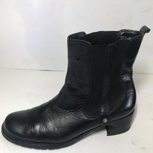 Kenneth Cole Leather Ankle Boots sz 7.5